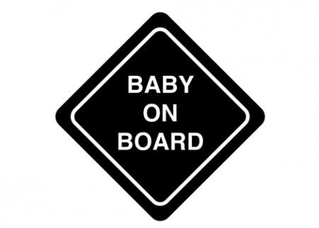 Samolepka na auto On board