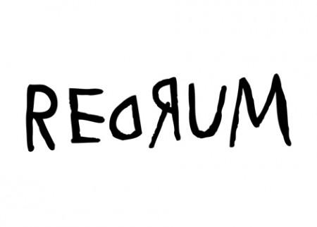 Samolepka na zeď Redrum