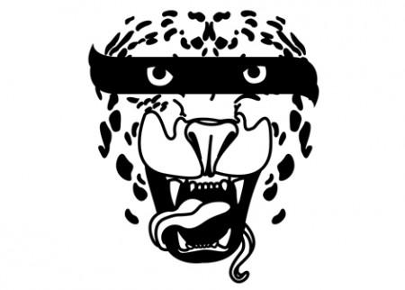 Dětská samolepka Tiger style