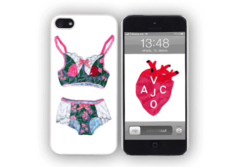 Pouzdro na iPhone 5 Underwear