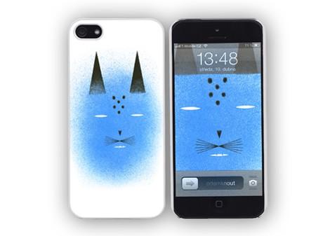 Obal na iPhone 4 Blue cat