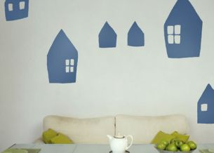 Dětská samolepka House