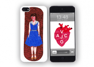 Obal na iPhone 4 Polkadot