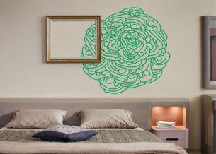 Samolepící dekorace na zeď Posy